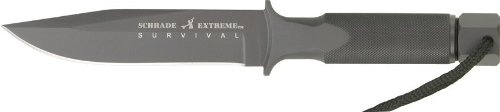 Schrade Extreme Survival One-Piece Steel Special Forces Fixed Blade Knife