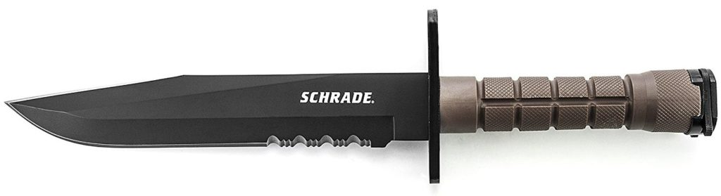 Schrade Serrated M-9 Bayonet Survival Knife