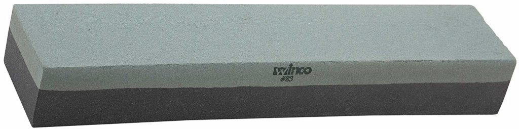 Winco 12-Inch Fine Grain Knife Sharpening Stone